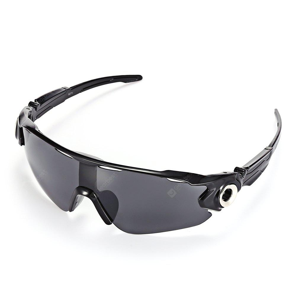 GRAY Outdoor Cycling Shock Resistant Explosion-proof Sunglasses