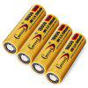 Geteed  3.7V 35A 2500mAh 18650 Li-ion Rechargeable Battery - GOLDEN