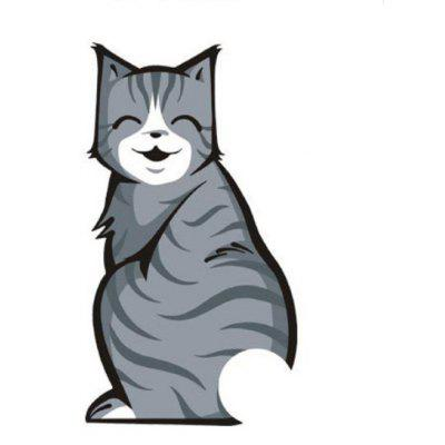 Cartoon Lovely Cat Decoration Reflective Sticker