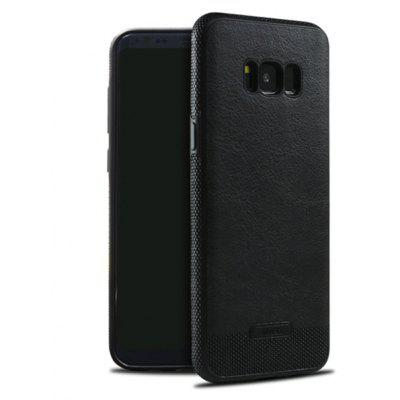 PU Leather Business Phone Cases for Samsung S8 Back Cover