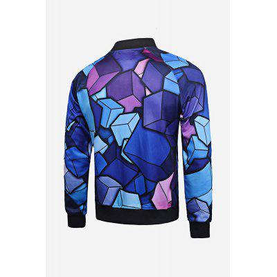 Fitness Jacket for MenMens Jackets &amp; Coats<br>Fitness Jacket for Men<br><br>Closure Type: Zipper<br>Clothes Type: Jackets<br>Embellishment: Zippers<br>Materials: Polyester<br>Package Content: 1 x Outwear<br>Package Dimension: 20.00 x 20.00 x 2.00 cm / 7.87 x 7.87 x 0.79 inches<br>Package weight: 0.6200 kg<br>Pattern Type: Print<br>Product weight: 0.5800 kg<br>Seasons: Autumn,Spring,Summer<br>Shirt Length: Regular<br>Sleeve Length: Long Sleeves<br>Style: Fashion, Casual<br>Thickness: Medium thickness