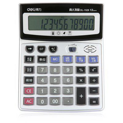 Deli 1529 Number Talking Calculator