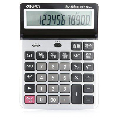 Deli 1622 12bit Number Calculator