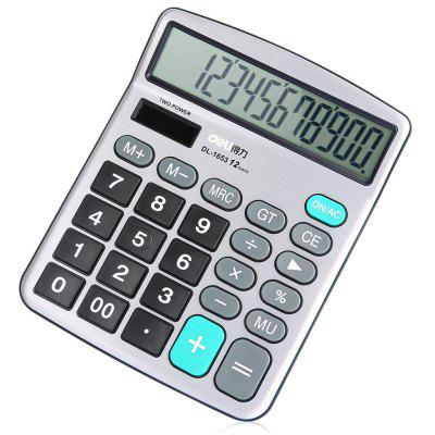 Deli 1653 Calculator 12 Calcul Calculateur