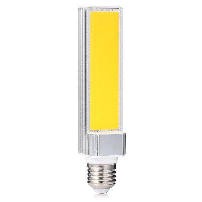 E27 12W 60 COB LED Horizon Bulb 85 - 265VLED Tubes<br>E27 12W 60 COB LED Horizon Bulb 85 - 265V<br><br>Available Light Color: White<br>CCT/Wavelength: 6000K<br>Emitter Types: COB<br>Features: Low Power Consumption, Long Life Expectancy, Energy Saving<br>Function: Commercial Lighting, Home Lighting<br>Holder: E27<br>Luminous Flux: 1080<br>Package Contents: 1 x E27 LED Horizon Bulb<br>Package size (L x W x H): 4.50 x 4.50 x 17.50 cm / 1.77 x 1.77 x 6.89 inches<br>Package weight: 0.1300 kg<br>Product size (L x W x H): 3.50 x 3.50 x 16.50 cm / 1.38 x 1.38 x 6.5 inches<br>Product weight: 0.0970 kg<br>Sheathing Material: ABS, Aluminum<br>Total Emitters: 60<br>Type: Horizontal Plug Lamp<br>Voltage (V): 85-265V