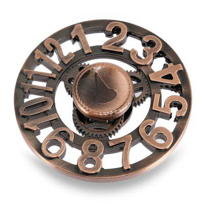 Retro Clock Alloy Fidget SpinnerFidget Spinners<br>Retro Clock Alloy Fidget Spinner<br><br>Center Bearing Material: Stainless Steel<br>Color: Copper<br>Frame material: Alloy<br>Package Contents: 1 x Fidget Spinner, 1 x Box<br>Package size (L x W x H): 9.00 x 9.00 x 2.00 cm / 3.54 x 3.54 x 0.79 inches<br>Package weight: 0.1220 kg<br>Product size (L x W x H): 6.00 x 6.00 x 1.40 cm / 2.36 x 2.36 x 0.55 inches<br>Product weight: 0.0670 kg<br>Type: Retro