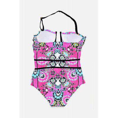 Special One-piece Bikini SuitWomens Swimwear<br>Special One-piece Bikini Suit<br><br>Elasticity: Super-elastic<br>Gender: For Women<br>Material: Polyester<br>Neckline: Halter<br>Package Contents: 1 x One-piece Bikini Suit<br>Package size: 20.00 x 20.00 x 20.00 cm / 7.87 x 7.87 x 7.87 inches<br>Package weight: 0.3200 kg<br>Pattern Type: Floral<br>Product weight: 0.2500 kg<br>Style: Sexy<br>Swimwear Type: One Piece