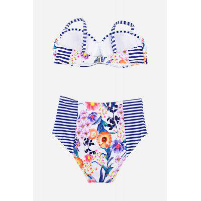 High Waist Two-piece Bikini SuitWomens Swimwear<br>High Waist Two-piece Bikini Suit<br><br>Material: Polyester<br>Neckline: Straps<br>Package Contents: 1 x Two-piece Swimsuit<br>Package size: 20.00 x 20.00 x 20.00 cm / 7.87 x 7.87 x 7.87 inches<br>Package weight: 0.2500 kg<br>Product weight: 0.2000 kg<br>Style: Cute<br>Swimwear Type: Bikini<br>Waist: High Waisted