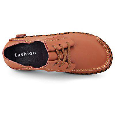 Men Wearable Genuine Leather Casual ShoesCasual Shoes<br>Men Wearable Genuine Leather Casual Shoes<br><br>Closure Type: Lace-Up<br>Contents: 1 x Pair of Shoes<br>Materials: Genuine Leather<br>Occasion: Shopping, Outdoor Clothing, Daily, Casual<br>Package Size ( L x W x H ): 33.00 x 24.00 x 13.00 cm / 12.99 x 9.45 x 5.12 inches<br>Package weight: 0.8200 kg<br>Product weight: 0.6000 kg<br>Seasons: Autumn,Spring,Summer<br>Style: Casual<br>Type: Casual Shoes<br>Upper Material: Genuine Leather
