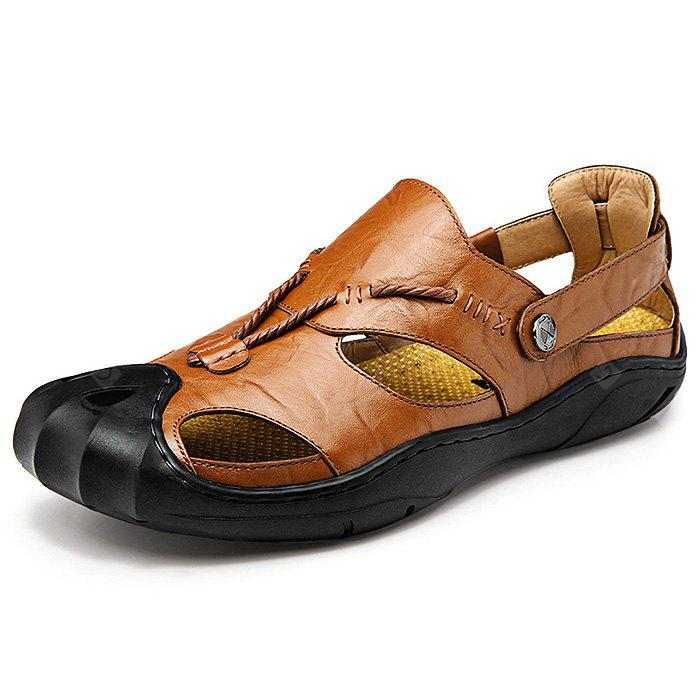 Genuine Leather Casual Sandals for Men