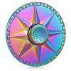 Buy Round Rainbow Eight Pointed Star Fidget Spinner COLORFUL