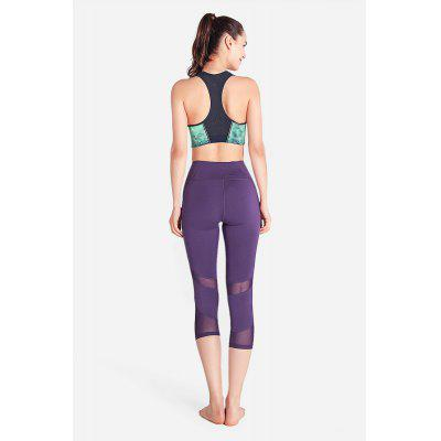 Breathable Elastic Fitness Capri PantsYoga<br>Breathable Elastic Fitness Capri Pants<br><br>Closure Type: Elastic Waist<br>Features: High elasticity, Breathable, Quick-Dry<br>Material: Polyester, Spandex<br>Package Content: 1 x Pants<br>Package size: 31.00 x 36.00 x 1.50 cm / 12.2 x 14.17 x 0.59 inches<br>Package weight: 0.2800 kg<br>Product weight: 0.1800 kg<br>Type: Cropped Trousers