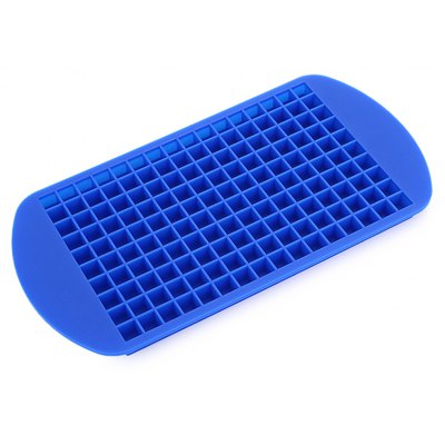 Ice Cube Mold Silicone Pudding Tray with 160 Grids