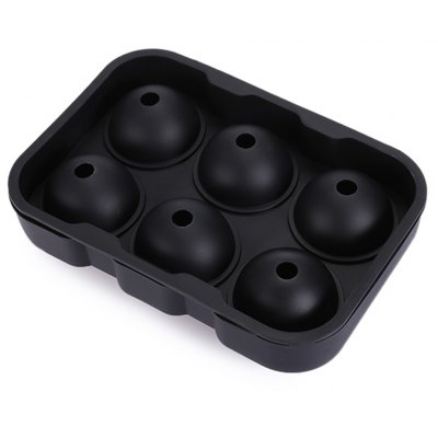 Silicone Round DIY Ice Mold with 6 Grids