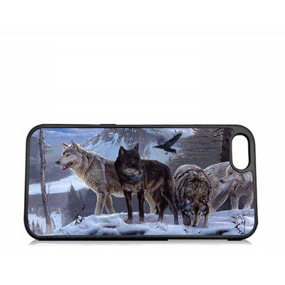 Capa 3D Relief Wolves TPU