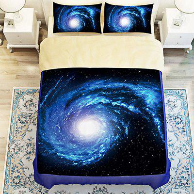 Buy COLORMIX 5-piece Polyester Bedding Set Sky Pattern for $83.55 in GearBest store