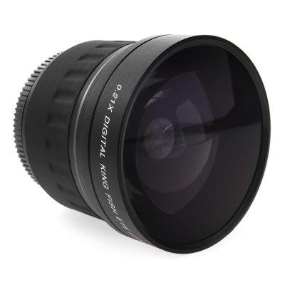 Lightdow 52mm 0.21x Telephoto Fish-eye LensLens<br>Lightdow 52mm 0.21x Telephoto Fish-eye Lens<br><br>Brand: Lightdow<br>Package Contents: 1 x Lens<br>Package size (L x W x H): 9.50 x 9.50 x 9.50 cm / 3.74 x 3.74 x 3.74 inches<br>Package weight: 0.3200 kg<br>Product size (L x W x H): 7.00 x 7.00 x 6.50 cm / 2.76 x 2.76 x 2.56 inches<br>Product weight: 0.2500 kg