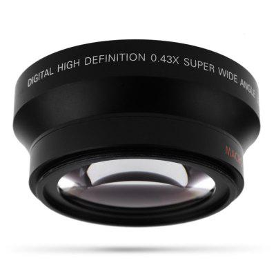 Lightdow 72W Telephoto Wide-angle LensLens<br>Lightdow 72W Telephoto Wide-angle Lens<br><br>Brand: Lightdow<br>Package Contents: 1 x Lens<br>Package size (L x W x H): 9.50 x 9.50 x 9.50 cm / 3.74 x 3.74 x 3.74 inches<br>Package weight: 0.3700 kg<br>Product size (L x W x H): 8.50 x 8.50 x 4.00 cm / 3.35 x 3.35 x 1.57 inches<br>Product weight: 0.3000 kg