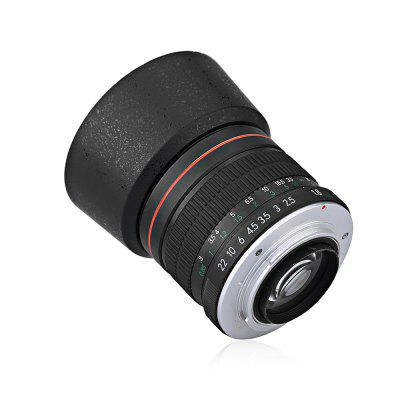 Lightdow Portrait 85mm F1.8 Interface Telephoto Lens for NikonLens<br>Lightdow Portrait 85mm F1.8 Interface Telephoto Lens for Nikon<br><br>Brand: Lightdow<br>Package Contents: 1 x Lens<br>Package size (L x W x H): 18.50 x 12.00 x 10.00 cm / 7.28 x 4.72 x 3.94 inches<br>Package weight: 0.5200 kg<br>Product size (L x W x H): 7.00 x 7.00 x 11.00 cm / 2.76 x 2.76 x 4.33 inches<br>Product weight: 0.3300 kg
