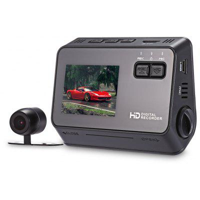 Smarnoo S3 Adjustable Dual Dash Cam Car DVR