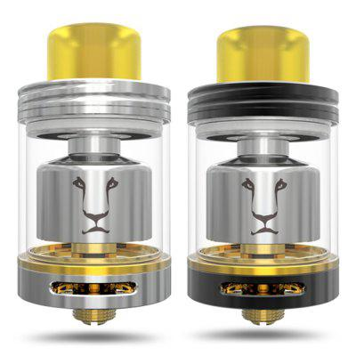 KAEES SOLOMON RTA / GTAOther Atomizers<br>KAEES SOLOMON RTA / GTA<br><br>Brand: KAEES<br>Material: Stainless Steel, Glass<br>Package Contents: 1 x SOLOMON Atomizer, 1 x RTA Coil, 1 x Glass, 2 x 0.2 ohm Clapton Fuse Coil, 1 x English User Manual, 1 x Accessory Bag<br>Package size (L x W x H): 8.00 x 8.00 x 4.50 cm / 3.15 x 3.15 x 1.77 inches<br>Package weight: 0.1150 kg<br>Product size (L x W x H): 4.60 x 2.40 x 2.40 cm / 1.81 x 0.94 x 0.94 inches<br>Product weight: 0.0730 kg<br>Rebuildable Atomizer: RBA,RTA<br>Tank Capacity: 4.0ml<br>Thread: 510<br>Type: Tank Atomizer, Rebuildable Atomizer