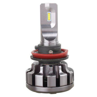 V1 H11 12800LM 6000K 70W Car LED Headlight Bulb - 2PCSCar Headlights<br>V1 H11 12800LM 6000K 70W Car LED Headlight Bulb - 2PCS<br><br>Adaptable automobile mode: Universal<br>Apply lamp position: External Lights<br>Color temperatures: 6000K<br>Connector: H11<br>Lumens: 12800LM ( 6400LM for per bulb )<br>Package Contents: 2 x V1 H11 70W Car LED Headlight<br>Package size (L x W x H): 21.00 x 15.00 x 7.00 cm / 8.27 x 5.91 x 2.76 inches<br>Package weight: 0.4330 kg<br>Power: 70W ( 35W for per bulb )<br>Product size (L x W x H): 7.20 x 4.00 x 4.00 cm / 2.83 x 1.57 x 1.57 inches<br>Product weight: 0.1900 kg<br>Type of lamp-house: LED