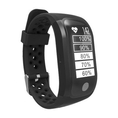 S908 GPS Sports SmartbandSmart Watches<br>S908 GPS Sports Smartband<br><br>Band material: TPU<br>Band size: 24 x 1.8 cm<br>Battery  Capacity: 230mAh<br>Bluetooth calling: Callers name display,Phone call reminder<br>Bluetooth Version: Bluetooth 4.2<br>Case material: ABS,PC<br>Charging Time: About 2hours<br>Compatability: Android 4.3 or above and iOS 8.0 or above<br>Compatible OS: IOS, Android<br>Dial size: 4.8 x 2.5 x 1.3 cm<br>Groups of alarm: 1<br>Health tracker: Heart rate monitor,Pedometer,Sleep monitor<br>IP rating: IP68<br>Messaging: Message reminder<br>Notification: Yes<br>Operating mode: Touch Key<br>Other Function: GPS<br>Package Contents: 1 x Smartband, 1 x Charging Cable, 1 x English Manual<br>Package size (L x W x H): 16.70 x 11.00 x 3.00 cm / 6.57 x 4.33 x 1.18 inches<br>Package weight: 0.1700 kg<br>People: Female table,Male table<br>Product size (L x W x H): 24.00 x 2.50 x 1.30 cm / 9.45 x 0.98 x 0.51 inches<br>Product weight: 0.0340 kg<br>RAM: 64K<br>ROM: 512K<br>Screen: OLED<br>Shape of the dial: Rectangle<br>Standby time: 20 days<br>Type of battery: Lithium-ion polymer battery<br>Waterproof: Yes