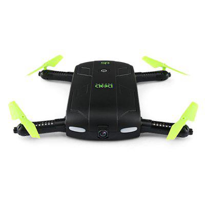 DHD D5 Mini Foldable RC Pocket Drone - BNFRC Quadcopters<br>DHD D5 Mini Foldable RC Pocket Drone - BNF<br><br>Battery: 3.7V 500mAh lithium-ion<br>Brand: DHD<br>Built-in Gyro: 6 Axis Gyro<br>Camera Pixels: 0.3MP<br>Channel: No Transmitter<br>Charging Time.: 120mins<br>Compatible with Additional Gimbal: No<br>Control Distance: 0-50m<br>Detailed Control Distance: 30~40m<br>Features: WiFi FPV, WiFi APP Control, Radio Control, Camera, Brushed Version<br>Flying Time: 7~8mins<br>FPV Distance: 40m<br>Functions: One Key Landing, Air Press Altitude Hold, Emergency Landing, Forward/backward, Gravity Sense Control, With light, Headless Mode, WiFi Connection, Waypoints, One Key Taking Off, Sideward flight, Slow down, 3D rollover, Speed up, Turn left/right, Up/down<br>Kit Types: BNF<br>Level: Beginner Level<br>Model: D5<br>Model Power: Built-in rechargeable battery<br>Motor Type: Brushed Motor<br>Package Contents: 1 x Drone ( Battery Included ), 4 x Spare Propeller, 1 x USB Charger, 1 x Chinese Manual, 1 x English Manual<br>Package size (L x W x H): 15.50 x 8.60 x 6.00 cm / 6.1 x 3.39 x 2.36 inches<br>Package weight: 0.2270 kg<br>Product size (L x W x H): 13.50 x 6.50 x 2.50 cm / 5.31 x 2.56 x 0.98 inches<br>Product weight: 0.0760 kg<br>Radio Mode: WiFi APP<br>Remote Control: 2.4GHz Wireless Remote Control<br>Sensor: Barometer<br>Size: Mini<br>Transmitter Power: No transmitter included<br>Type: Indoor, Quadcopter<br>Video Resolution: 480P