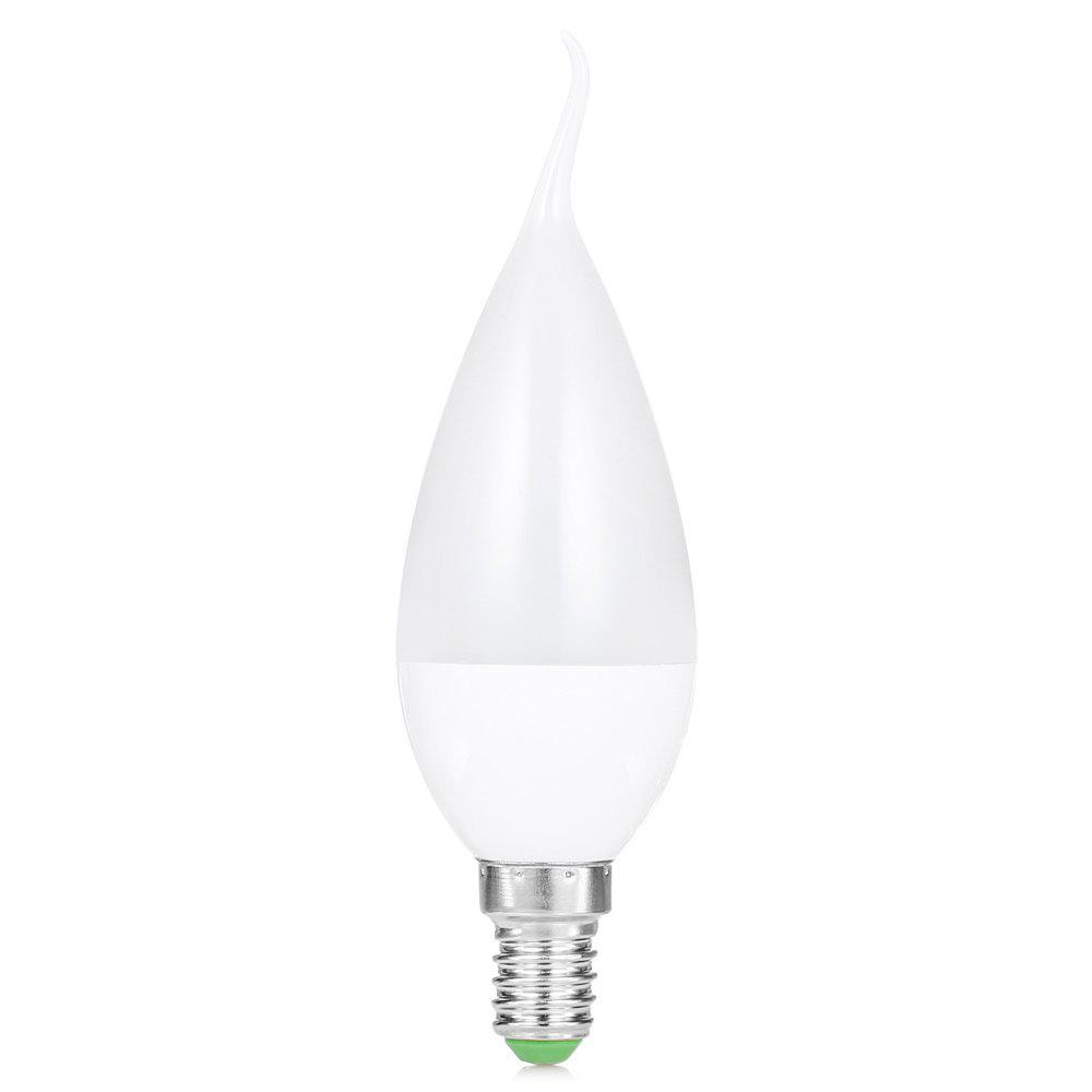 WHITE F37 E14 LED Candle Bulb
