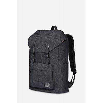 Buy BLACK KAUKKO 18.27L Modern Backpack Laptop Bag for $38.60 in GearBest store