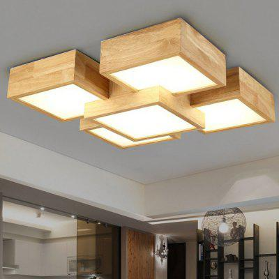 48W 4400LM LED Wooden Square Ceiling Light 220VFlush Ceiling Lights<br>48W 4400LM LED Wooden Square Ceiling Light 220V<br><br>Features: Remote-Controlled<br>Illumination Field: 8 - 15 Square Meter<br>Luminous Flux: 4400lm<br>Package Contents: 1 x Ceiling Light, 1 x Remote Control, 1 x Installation Component Kit<br>Package size (L x W x H): 60.00 x 60.00 x 15.00 cm / 23.62 x 23.62 x 5.91 inches<br>Package weight: 5.5300 kg<br>Product size (L x W x H): 50.00 x 50.00 x 10.00 cm / 19.69 x 19.69 x 3.94 inches<br>Product weight: 5.0000 kg<br>Sheathing Material: Wood, Metal, Acrylic<br>Type: Ceiling Lights<br>Voltage (V): 220V<br>Wavelength / CCT: 3000K,4200K,6500K