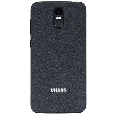 UHANS A6 3G PhabletCell phones<br>UHANS A6 3G Phablet<br><br>2G: GSM 1800MHz,GSM 1900MHz,GSM 850MHz,GSM 900MHz<br>3G: WCDMA B1 2100MHz,WCDMA B8 900MHz<br>Additional Features: 3G, Alarm, Bluetooth, Browser, Calculator, Calendar, WiFi, Fingerprint recognition, Fingerprint Unlocking, MP3, MP4<br>Back-camera: 8.0MP<br>Battery Capacity (mAh): 1 x 4150mAh<br>Bluetooth Version: V4.0<br>Brand: UHANS<br>Camera type: Dual cameras (one front one back)<br>Cell Phone: 1<br>Cores: Quad Core, 1.3GHz<br>CPU: MTK6580<br>English Manual: 1<br>External Memory: TF card up to 64GB (not included)<br>Front camera: 2.0MP<br>Games: Android APK<br>Google Play Store: Yes<br>I/O Interface: 2 x Micro SIM Card Slot<br>Language: English, Dutch, Spanish, Hindi, Indonesian, Portuguese , Italian, German, French, Russian, Arabic, Malay, Persian, Thai, Turkey, Urdu, Vietnamese, Greek, Ukrainian, Croatian, Czech, Danish, Hungarian.<br>Music format: AAC, MP3<br>Network type: GSM,WCDMA<br>OS: Android 7.0<br>Package size: 17.90 x 10.10 x 5.30 cm / 7.05 x 3.98 x 2.09 inches<br>Package weight: 0.4150 kg<br>Picture format: JPG, GIF, BMP, JPEG, PNG<br>Power Adapter: 1<br>Product size: 15.60 x 7.80 x 1.05 cm / 6.14 x 3.07 x 0.41 inches<br>Product weight: 0.1460 kg<br>RAM: 2GB RAM<br>ROM: 16GB<br>Screen resolution: 1280 x 720 (HD 720)<br>Screen size: 5.5inch<br>Screen type: Capacitive<br>Sensor: Ambient Light Sensor,Gesture Sensor,Gravity Sensor,Proximity Sensor<br>Service Provider: Unlocked<br>Silicone Case: 1<br>SIM Card Slot: Dual SIM, Dual Standby<br>SIM Card Type: Micro SIM Card<br>Type: 3G Phablet<br>USB Cable: 1<br>Video format: ASF, AVI, FLV, MP4, 3GP, MKV<br>Video recording: Yes<br>WIFI: 802.11b/g/n wireless internet<br>Wireless Connectivity: WiFi, GPS, 3G, GSM