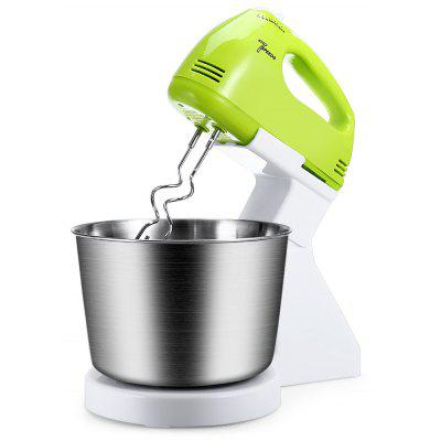 Buy WHITE AND GREEN 180W 7-speed Dough Stand Hand Mixer Whisk Blender for $26.07 in GearBest store