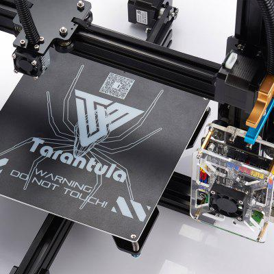 2017 Newest Tevo Tarantula 3D Printer DIY Kit3D Printers, 3D Printer Kits<br>2017 Newest Tevo Tarantula 3D Printer DIY Kit<br><br>Brand: Tevo<br>File format: STL, G-code<br>Frame material: Aluminum<br>Language: English<br>Material diameter: 1.75mm<br>Model: Tarantula<br>Nozzle diameter: 0.4mm<br>Package size: 48.00 x 36.00 x 24.00 cm / 18.9 x 14.17 x 9.45 inches<br>Package weight: 10.0000 kg<br>Packing Contents: 1 x Tevo Tarantula 3D Printer Kit with Assembly Tools, 1 x Tevo Titan Extruder, 1 x 8GB SD Card, 1 x English Assembly Instruction, 1 x USB 2.0 Bundle, 2 x Rolls of Free Filaments ( Colors Random )<br>Print speed: Max 150mm/s<br>Product forming size: 200 x 280 x 200mm<br>Product size: 43.00 x 43.00 x 40.00 cm / 16.93 x 16.93 x 15.75 inches<br>Product weight: 8.0000 kg<br>Supporting material: Wood, Flexible Filaments, ABS, Nylon, PETG, PLA, PVA<br>System support: Mac,  Linux, Windows<br>Type: DIY<br>Voltage Range: 110-220V<br>Working Power: 250W<br>XY-axis positioning accuracy: 0.012mm<br>Z-axis positioning accuracy: 0.004mm