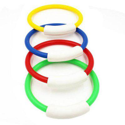 4PCS Children PVC Diving Swimming Buoy Ring Water ToyDiving<br>4PCS Children PVC Diving Swimming Buoy Ring Water Toy<br><br>Material: PVC<br>Package Content: 4 x Swimming Buoy Ring<br>Package size: 30.00 x 18.00 x 2.50 cm / 11.81 x 7.09 x 0.98 inches<br>Package weight: 0.2700 kg<br>Product size: 14.00 x 14.00 x 1.50 cm / 5.51 x 5.51 x 0.59 inches<br>Product weight: 0.2200 kg<br>Suitable for: Children