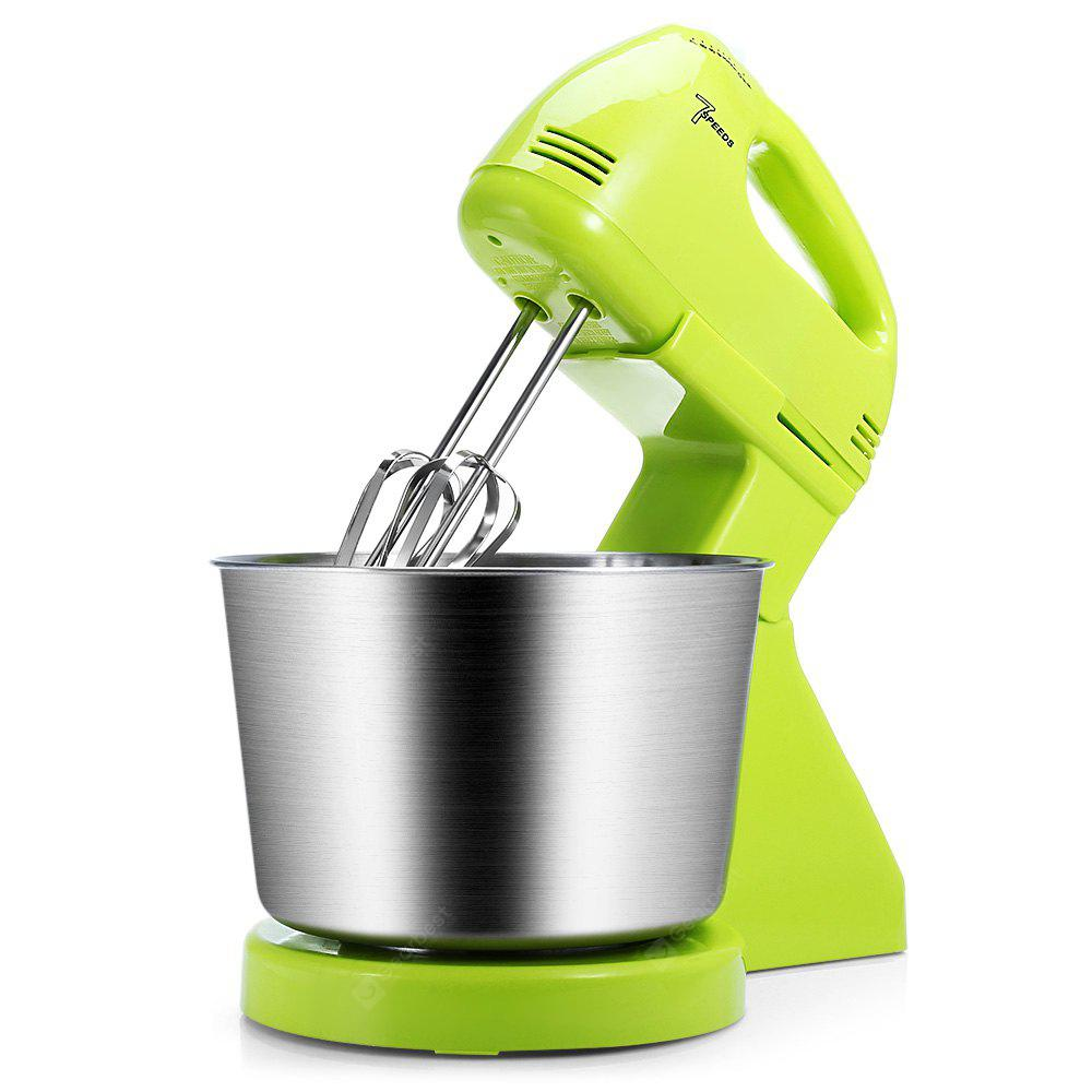 180W 7-speed Dough Stand Hand Mixer Whisk Blender
