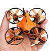 LANCHI Bluebird Racer 85S Micro FPV Racing Drone - BNF - BLACK AND ORANGE