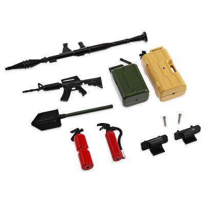 AUSTAR 20009 Realistic RC Decoration Tool Set