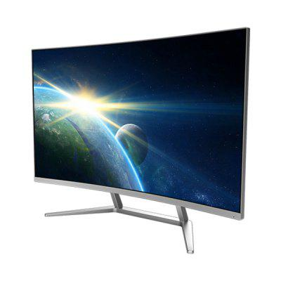 Le Saturn 50541T 31.5 inch Curved All-in-one PC DesktopAll-in-One Computers<br>Le Saturn 50541T 31.5 inch Curved All-in-one PC Desktop<br><br>3.5mm Headphone Jack: Yes<br>AC adapter: 100-240V / 19V 13.15A<br>Bluetooth: 4.0<br>Brand: Le<br>Caching: 6MB<br>Charger: 1<br>Computer: 1<br>Core: Quad Core, 3.0GHz<br>CPU: Intel Core i5 7400<br>CPU Brand: Intel<br>CPU Series: Intel Core<br>DC Jack: Yes<br>Display Ratio: 16:9<br>English Manual : 1, 1<br>Graphics Capacity: 4G<br>Graphics Card Frequency: 1290MHz - 1392MHz<br>Graphics Chipset: GeForce GTX 1050Ti<br>Graphics Type: Graphics Card<br>Hard Disk Interface Type: SATA<br>Hard Disk Memory: 1T HDD<br>LAN Card: Yes<br>Largest RAM Capacity: 16GB<br>Model: Saturn 50541T<br>OS: DOS<br>Package size: 81.50 x 27.50 x 54.50 cm / 32.09 x 10.83 x 21.46 inches, 81.50 x 27.50 x 54.50 cm / 32.09 x 10.83 x 21.46 inches<br>Package weight: 13.5500 kg, 13.5500 kg<br>Power Consumption: 65W<br>Process Technology: 14nm<br>Product size: 71.20 x 20.83 x 50.70 cm / 28.03 x 8.2 x 19.96 inches, 71.20 x 20.83 x 50.70 cm / 28.03 x 8.2 x 19.96 inches<br>Product weight: 8.6000 kg, 8.6000 kg<br>RAM: 8GB<br>RAM Slot Quantity: Two<br>RAM Type: DDR4L<br>RJ45 connector: Yes<br>Screen resolution: 1920 x 1080 (FHD)<br>Screen size: 31.5 inch<br>Screen type: VA<br>Standard HDMI: Yes<br>Threading: 4<br>USB Host: Yes (4 x USB 3.0 + 2 x USB 2.0)<br>WIFI: 802.11b/g/n wireless internet<br>WLAN Card: Yes
