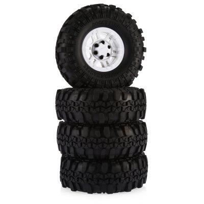 AUSTAR AX - 4020D 4pcs Rubber Tire with Plastic Hub