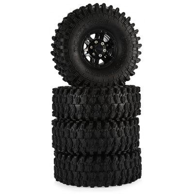 AUSTAR AX - 5020C 4pcs Rubber Tire with Plastic Hub