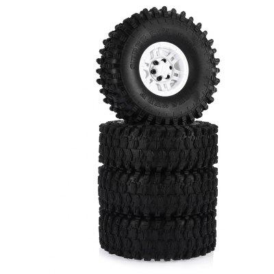 AUSTAR AX - 5020D 120mm Rubber Tire + Plastic Hub Set