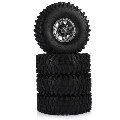 AUSTAR AX - 5020G 120mm Rubber Tire + Hub Set