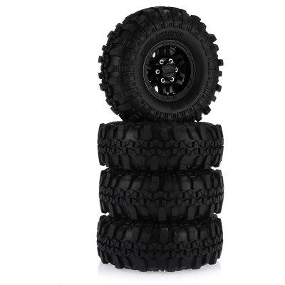 AUSTAR AX - 4020C 4pcs Rubber Tire with Plastic Hub