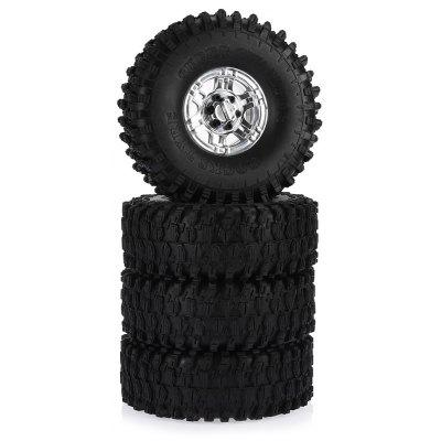AUSTAR AX - 5020F 120mm Rubber Tire + Hub Set