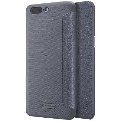 Nillkin Leather Full Body Case Auto Wake-up for OnePlus 5