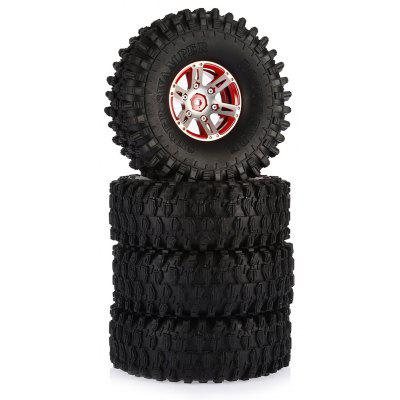 AUSTAR AX - 5020B 4pcs 120mm Rubber Tire