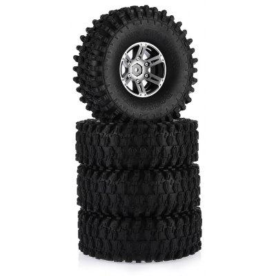 AUSTAR AX - 5020A 120mm Rubber Tire 4pcs / set