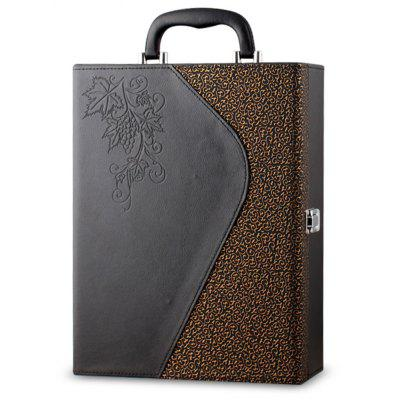 Exquisite Dragon Claw Pattern Wine Gift Box