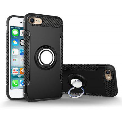Luanke Armor Ring Holder Case Back Cover for iPhone 7